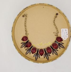 Fair Isle collar necklace
